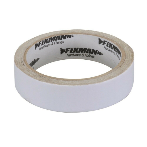 Fixman 193687 Super Hold Double Sided Tape 25mm x 2.5m